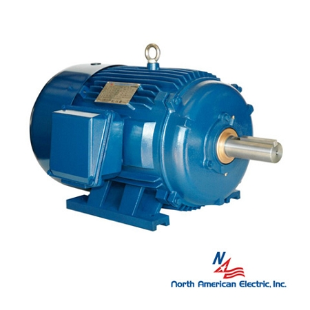 7 5 hp 256t electric motor 900 rpm 3 phase 208 230 460 for Totally enclosed fan cooled motor