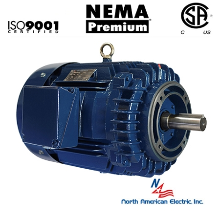 10 Hp 215tc Electric Motor 1800 Rpm 3 Phase 208 230 460