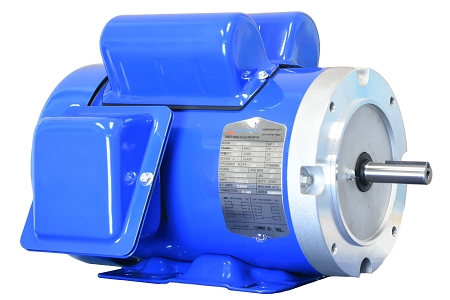 1 5 hp 56c electric motor 1800 rpm 1 phase 115 230 totally for 5 hp 1800 rpm motor