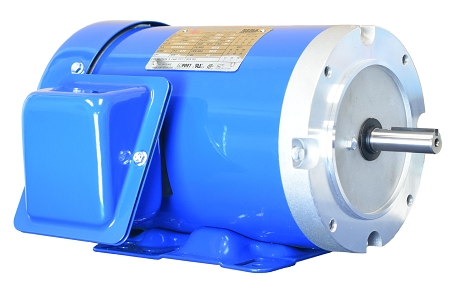 1/3 hp 56C electric motor 1800 rpm 3 phase 208-230/460 totally enclosed