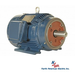 10 hp 215tc electric motor 1800 rpm 3 phase 208 230 460 for 10 hp 3 phase electric motor