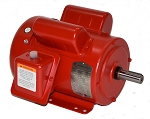1 HP 143T Electric Motor 1800 RPM 1 Phase farm duty F143T1S4C-MO