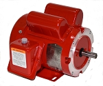 1/3 HP 56C Electric Motor 1800 RPM 1 Phase farm duty F56C1/3S4C-MO