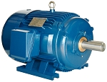 2 hp 145T electric motor 575V 1800 rpm 3 phase tefc