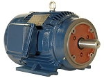 1 hp 143TC electric motor 1800 rpm 3 phase 208-230/460 totally enclosed
