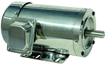 1/3 hp 56C stainless steel electric motor 3 phase 3600 rpm 208-230/460 totally enclosed with base