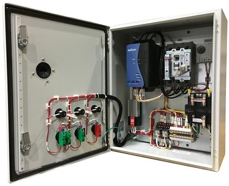 Reduced Voltage Soft Starter Panel For 50HP 460V Electric Motor 75 Amps
