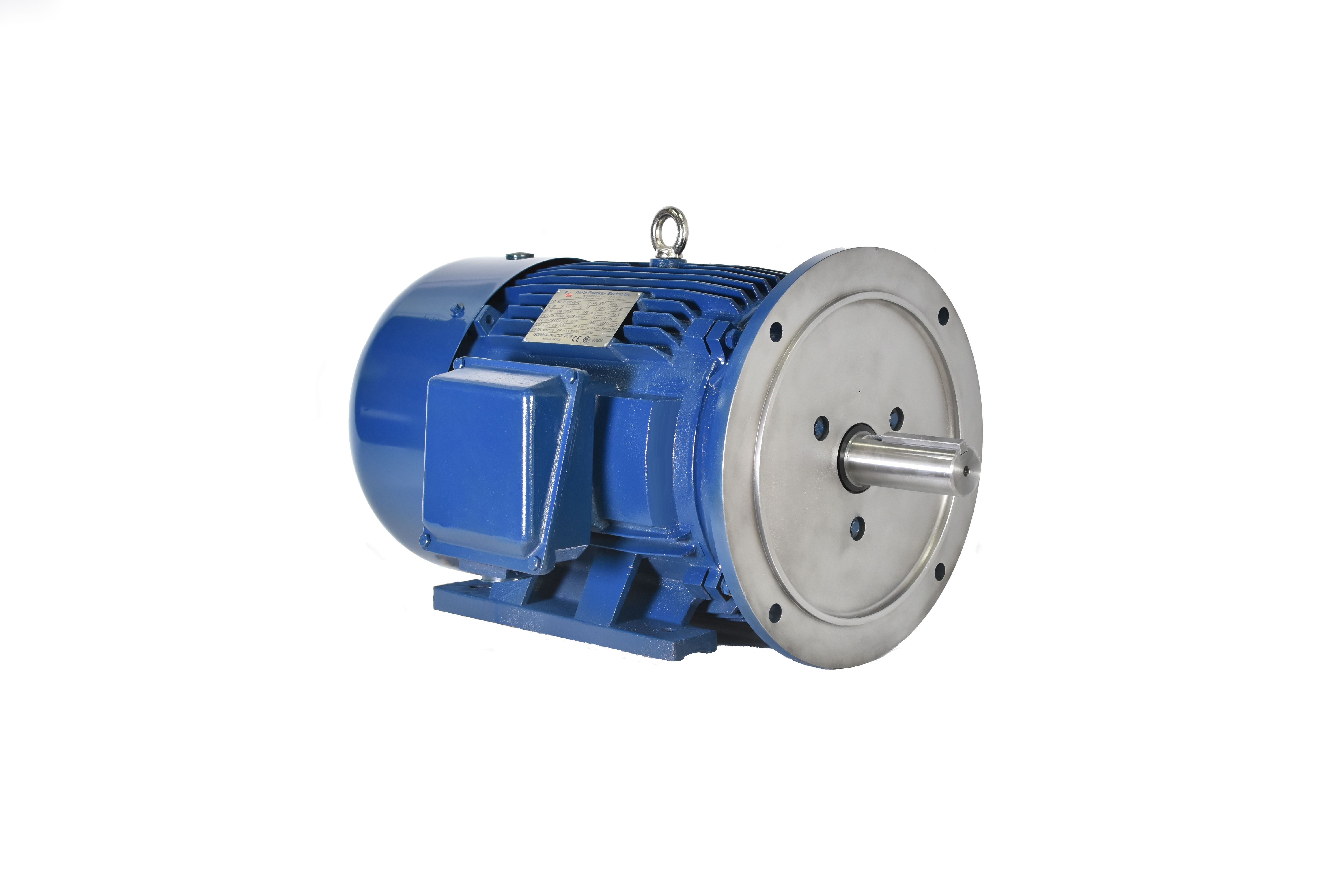 5 Hp Electric Motor >> 5 Hp 184td Electric Motor 1800 Rpm 3 Phase 208 230 460 Totally Enclosed