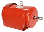 10HP 215TC Electric Motor 1800 RPM 1 Phase 208-230 Totally Enclosed Farm Duty