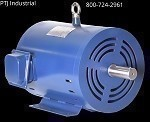 1.5 hp 143T electric motor 3600 rpm 3 phase 208-230/460 Open Drip Proof