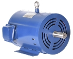 3 hp 145T electric motor 3600 rpm 3 phase 208-230/460 Open Drip Proof