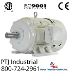150 hp 449T electric motor 1200 rpm 3 phase 460/796 volt totally enclosed  design D