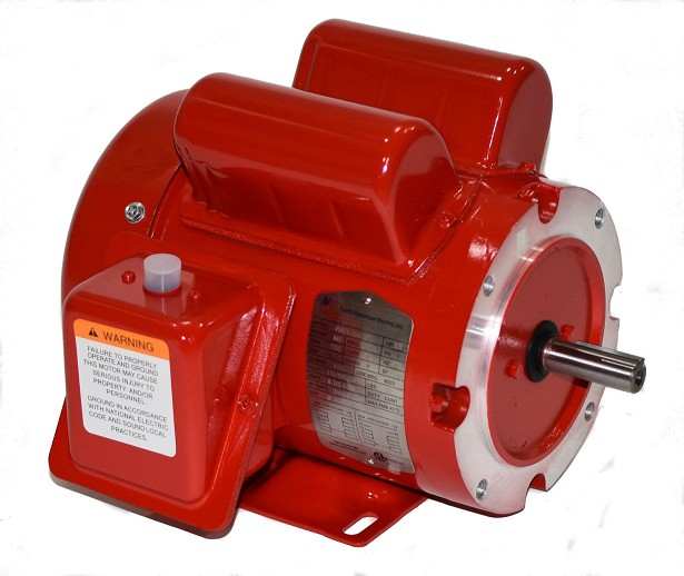 3/4 HP 56C Electric Motor 1800 RPM 1 Phase farm duty F56C3/4S4C-MO