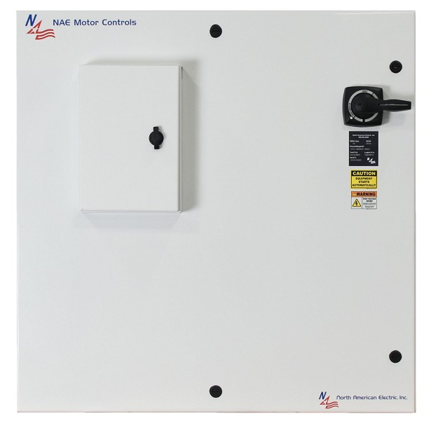 600 HP Reduced Voltage Electric Motor Starter Panel 460 Volt NEMA 3R Soft Start Crusher Duty