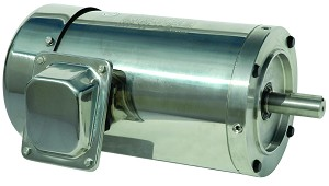 2 hp 56C stainless steel electric motor 3 phase 1800 rpm 208-230/460 totally enclosed
