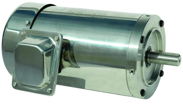 20 hp 256TC stainless steel electric motor 3 phase 1800 rpm 208-230/460 totally enclosed