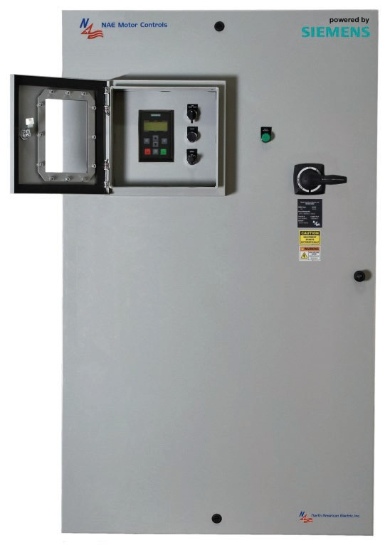700 HP Variable Frequency Drive Panel 460 NEMA 12 Variable Torque